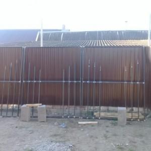 Кровля, заборы, навесы, бетонные работы (фото 1)